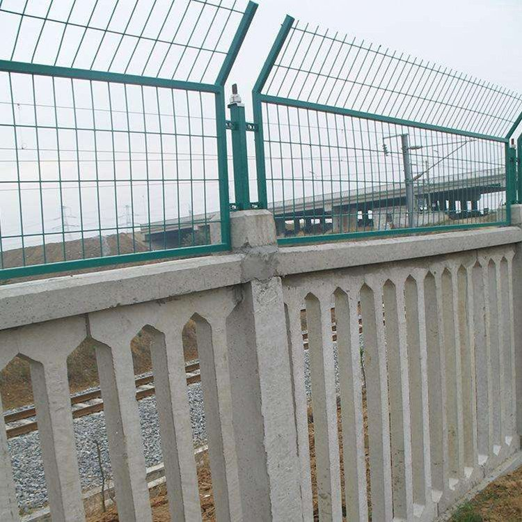 high-speed railway fence